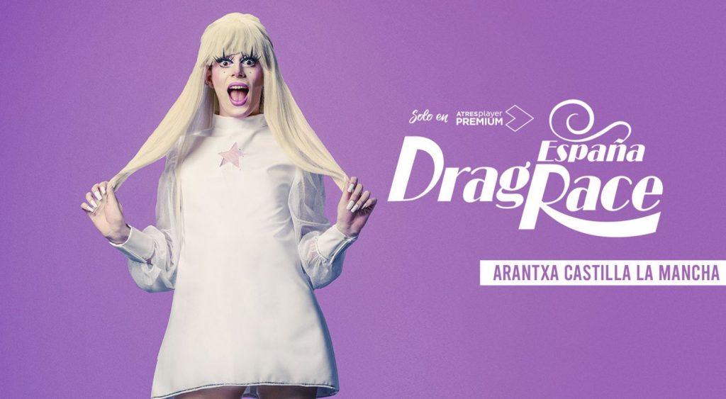 Arantxa Castilla-La-Mancha de Drag Race España atresplayer