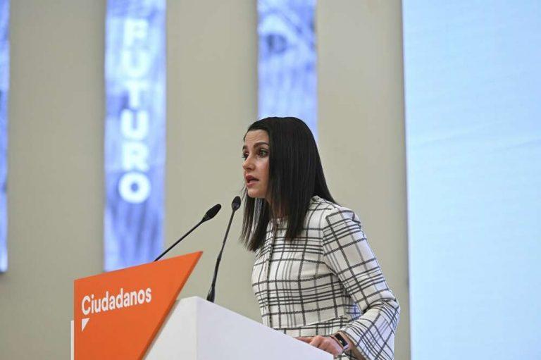 Arrimadas afirma que el voto a Cs evitará que Iglesias lleve la economía en Madrid