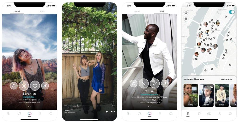 ¿Por qué se ha puesto de moda esta App Raya en los famosos?