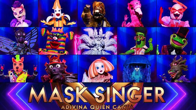 Mask Singer 2: fecha de la primera gala y al descubierto las 15 máscaras