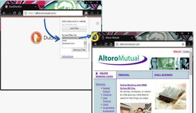 Auto-Incognito Filter