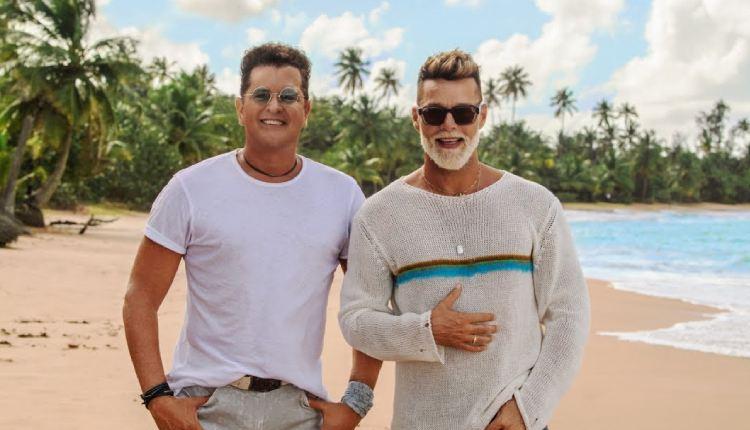 Carlos Vives y Ricky Martin juntos en la 'Canción bonita'