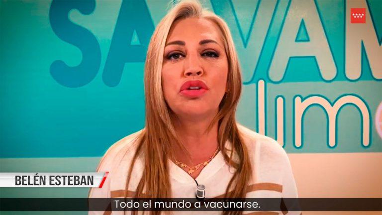 De Belén Esteban a Antonio Resines: los famosos que piden que te vacunes en el vídeo de Madrid