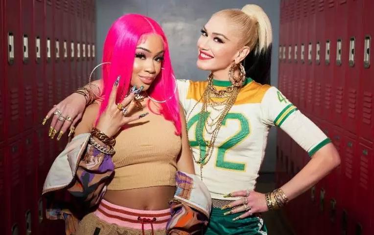 Gwen Stefani y Saweetie juntas en 'Slow clap' (remix)