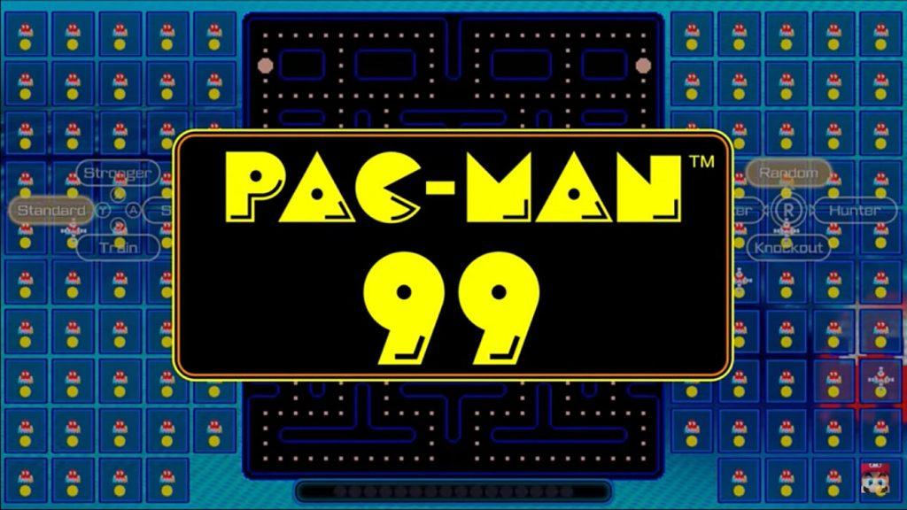 Los anuncios hechos por Nintendo sobre Pac-Man 99