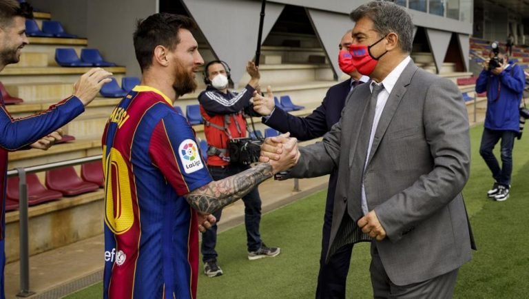 ¿PSG o Barça? La respuesta tajante sobre Messi que ha dado Laporta