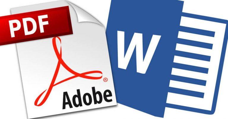 Cómo cambiar un archivo PDF a Word
