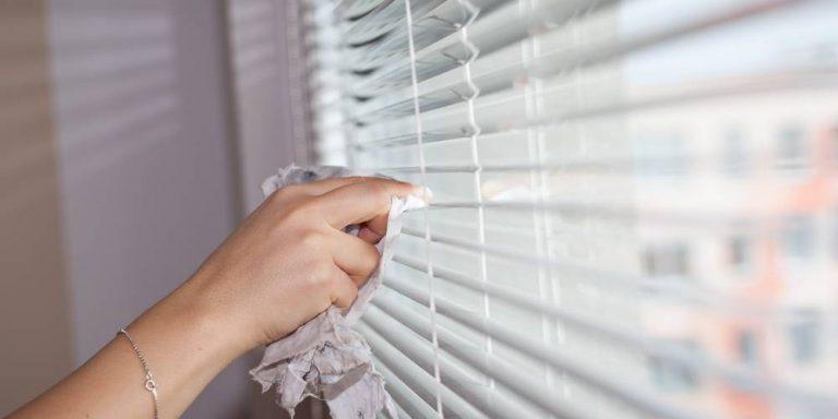 Cómo limpiar una persiana