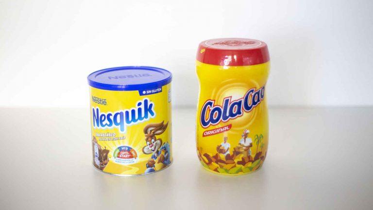 Qué es mejor, ColaCao o Nesquik