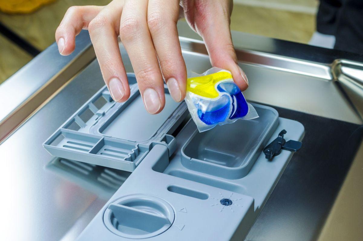 detergente en cápsulas