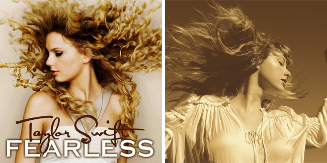"""Taylor Swift publica """"Fearless (Taylor's version)"""""""