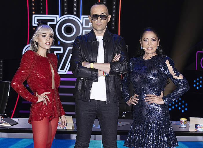 Top Star: la monumental bronca de Isabel Pantoja y Risto Mejide que dinamita el estreno