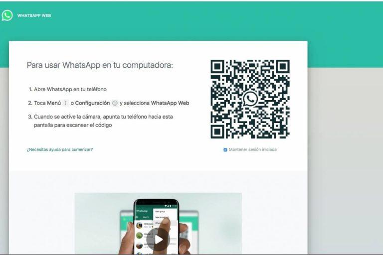 WhatsApp Web: cómo usarlo sin escanear el código QR