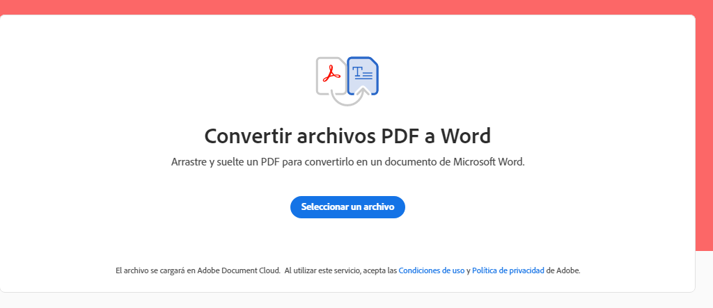 ¿Cómo hacer el cambio de documentos PDF a Word?