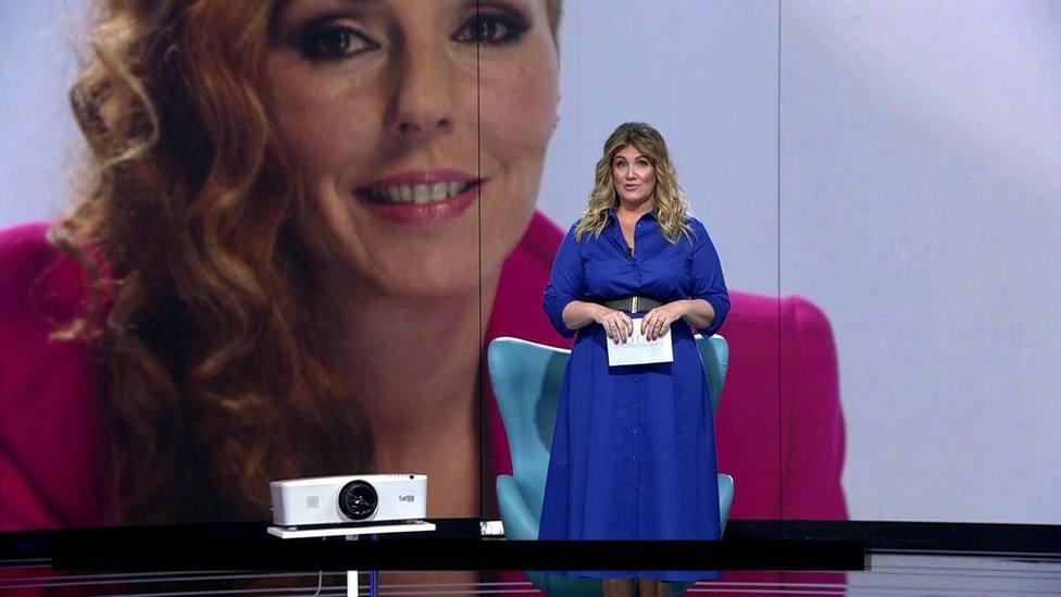 Carlota Corredera se emocionó con el último testimonio de Rocío Carrasco.