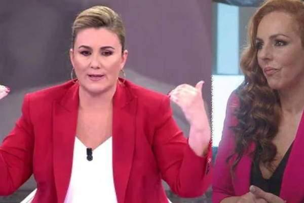 Carlota Corredera fue la encargada de leer el comunicado de Telecinco sobre Rocío Carrasco.