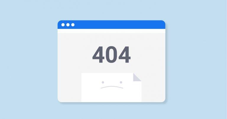 Error 404 y otros fallos habituales al navegar por Internet