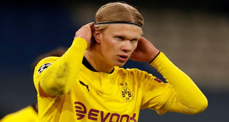 Haaland Dortmund Mbappé Real Madrid