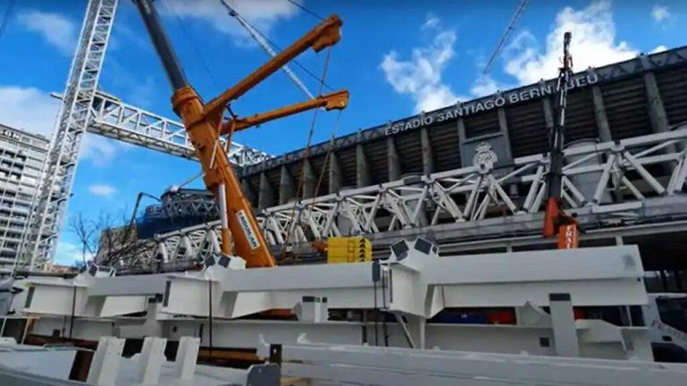 Así están las obras en el nuevo Santiago Bernabéu