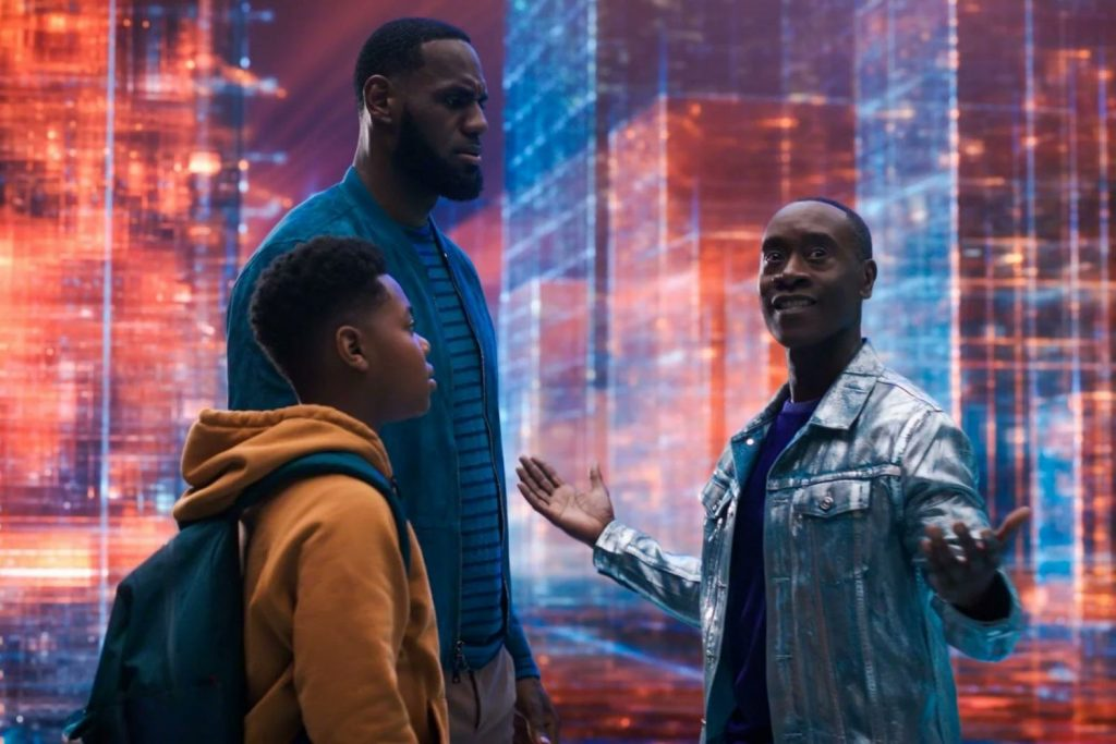 Lebron James y su hijo en 'Space Jam 2'