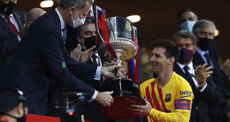 Leo Messi Barça Copa del Rey