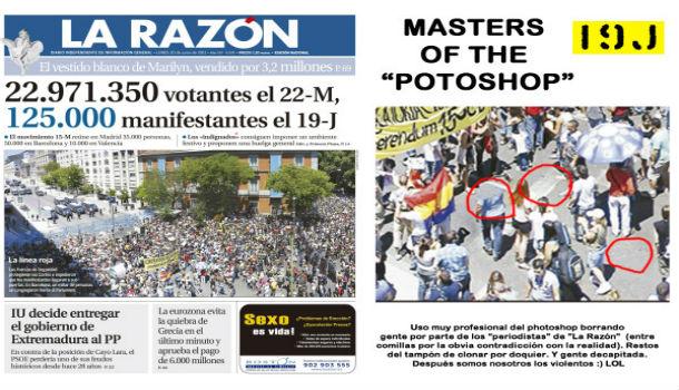 Las muestras de manipulación del periodismo en España más descaradas