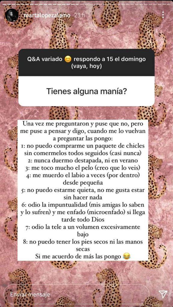 Se va de la lengua: las manías de Marta López que encantan a Kiko Matamoros