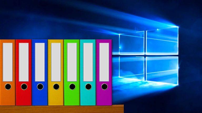 Cómo organizar tus archivos y carpetas en Windows 10
