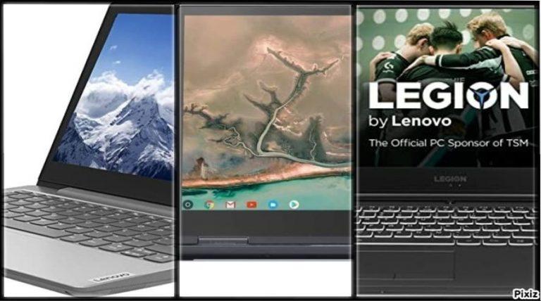 Ordenadores portátiles de Lenovo con oferta del día en Amazon