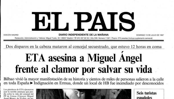 10 portadas históricas de periódicos españoles