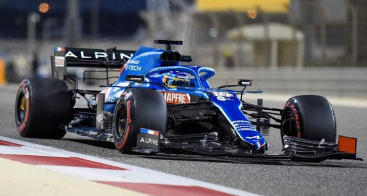Fernando Alonso Bahrein Alpine