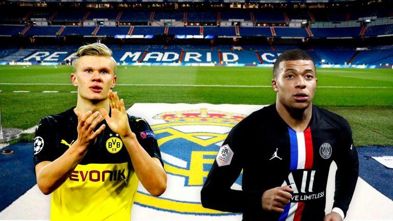 Las 'ofensivas' de los equipos de Haaland y Mbappé para alejar al Real Madrid de su fichaje
