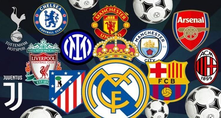Superliga europea, Champions, equipos fundadores
