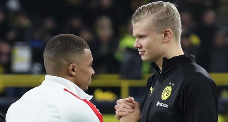 Táctica PSG Dortmund, Haaland Mbappé Real Madrid