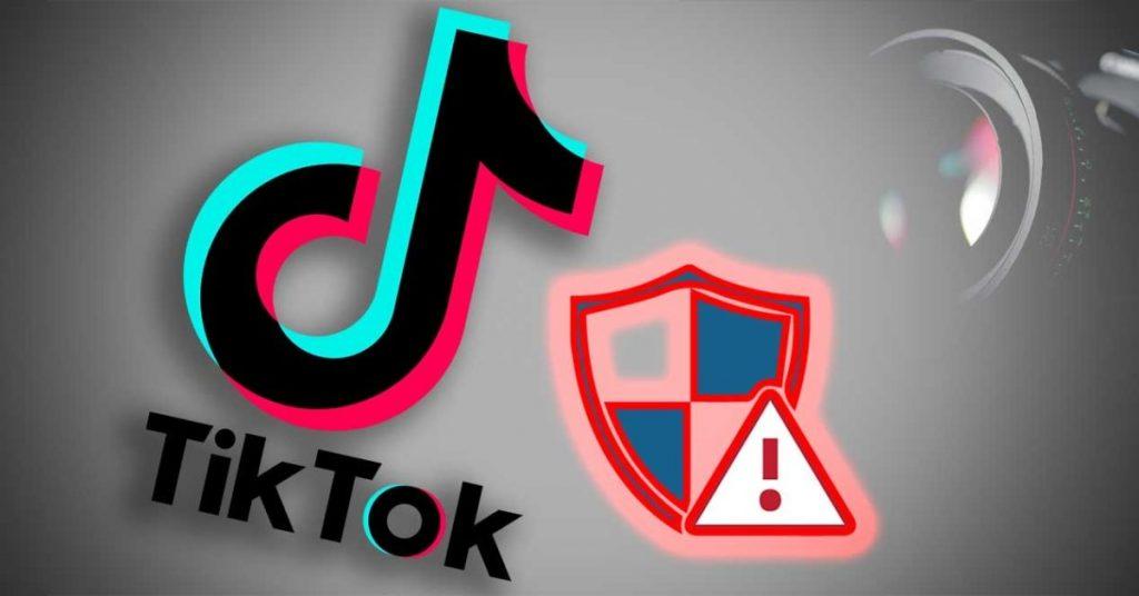 Datos centrales de suspensión en TikTok