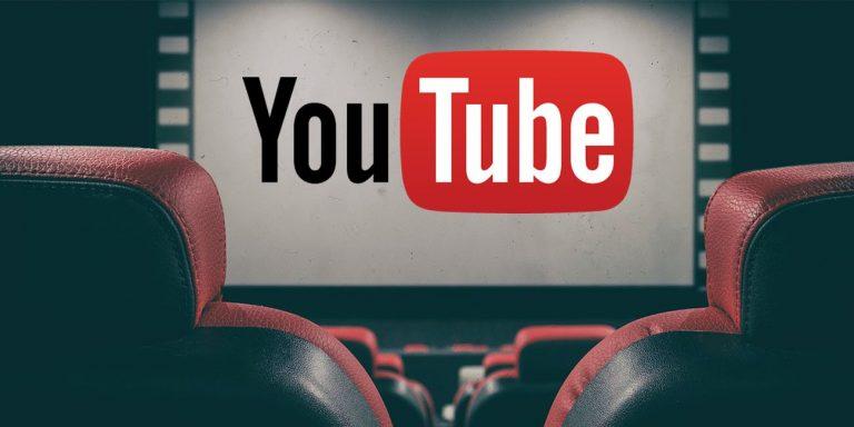 Cómo ver películas gratis en YouTube de forma legal