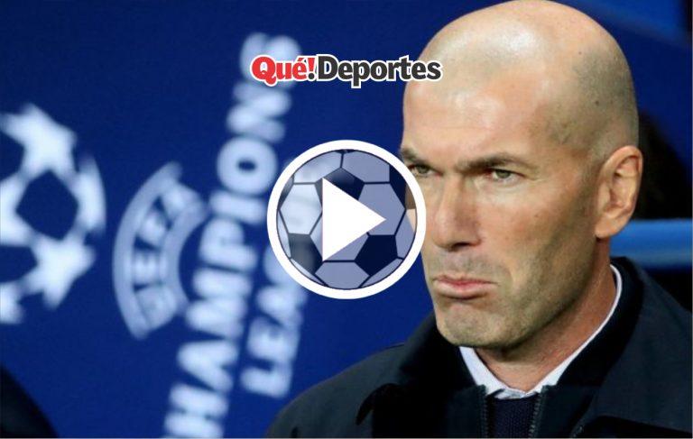 Y así Zidane los perdió documentos y el móvil