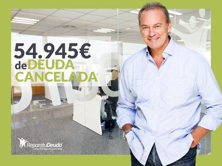 Repara tu Deuda cancela 54.945€ con deuda pública en Madrid con la Ley de la Segunda Oportunidad