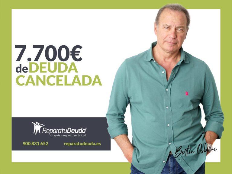 Repara tu Deuda Abogados cancela 7.700€ en Oviedo (Asturias) gracias a la Ley de Segunda Oportunidad