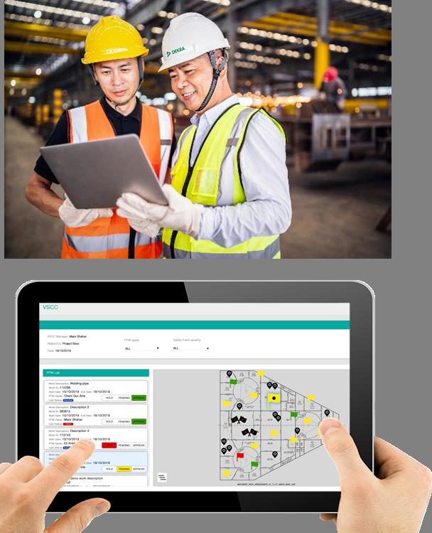 DEKRA proporciona seguridad en tiempo real para obras en el sector de construcción