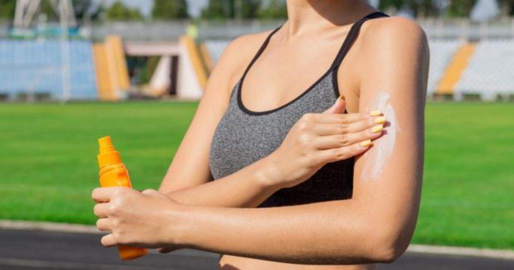 Protección máxima de la crema solar