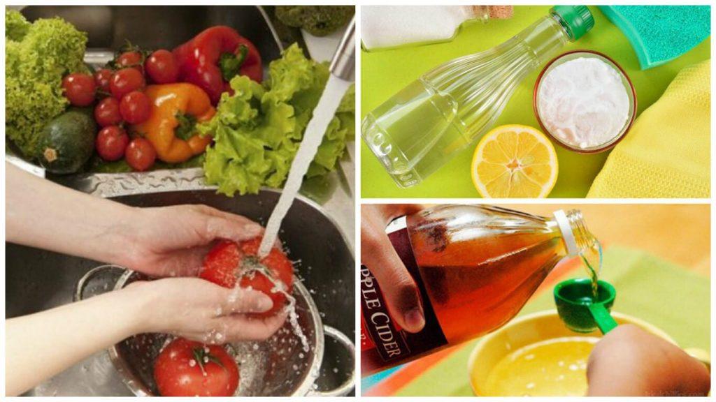 ¿Cómo desinfectar correctamente las frutas y las verduras?