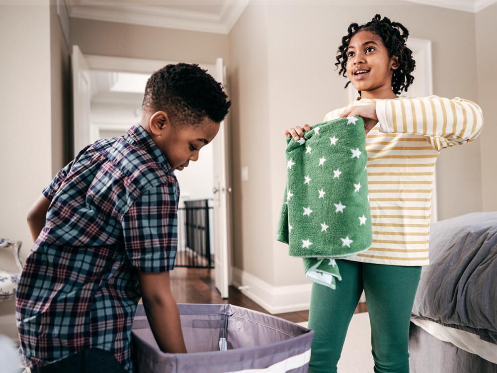 Top de datos que debes saber para enseñar a tus hijos a recoger la habitación