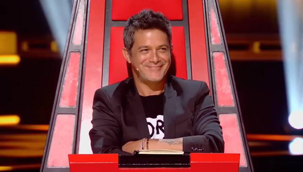 Alejandro Sanz en La Voz