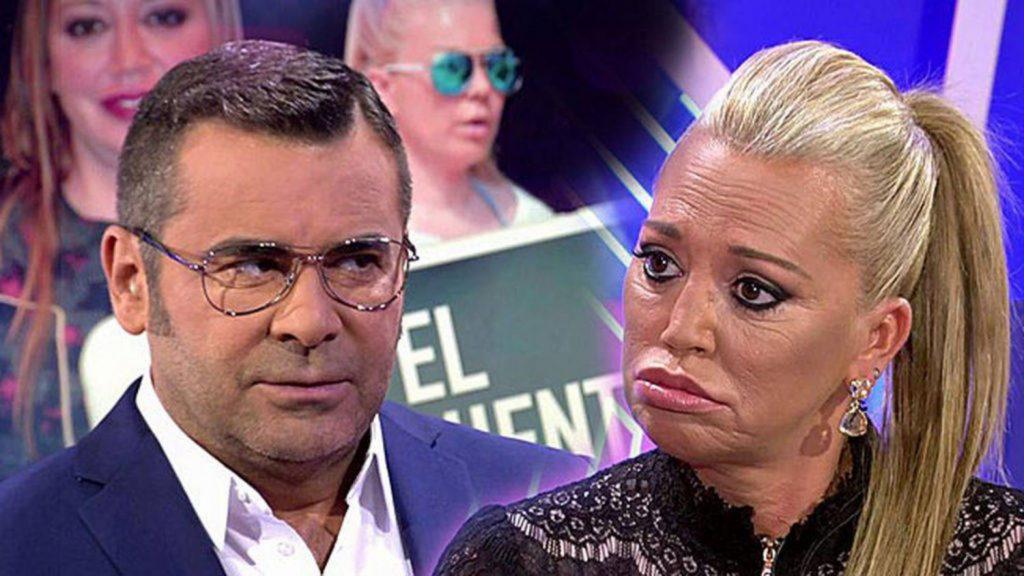 Belén Esteban se enfrenta con Jorge Javier Vázquez