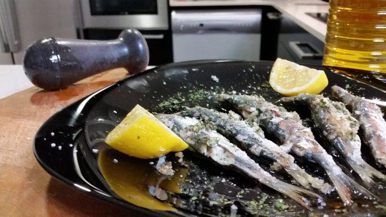 Cómo hacer sardinas a la plancha sin que el olor inunde tu casa