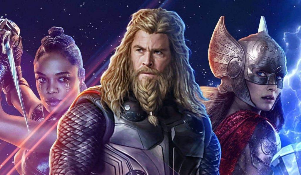 Detalles del estreno de Thor: Love and Thunder marvel