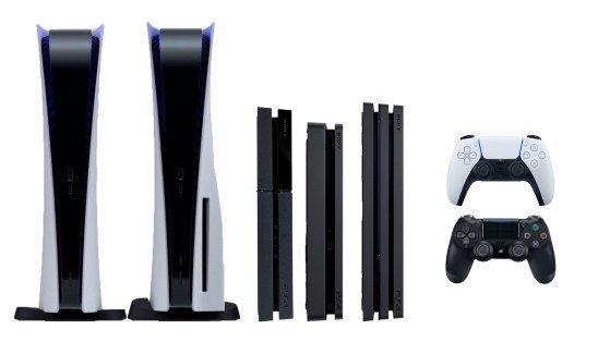 Las incomparables PS4 y PS5