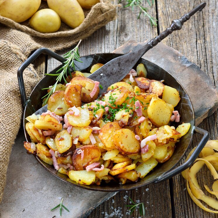 Patatas al estilo alemán: así puedes hacerlas en España y disfrutarlas