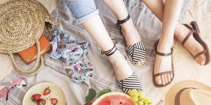 Qué prefieran las personas a la hora de usar calzados en verano